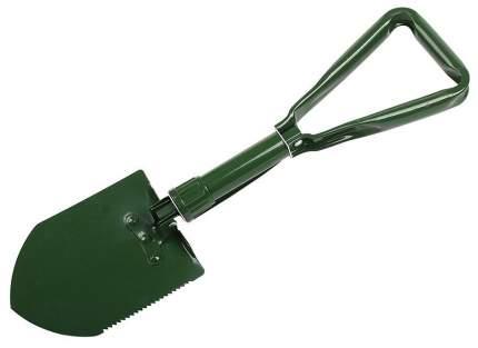 Лопата туристическая складная с киркой в чехле (хаки)