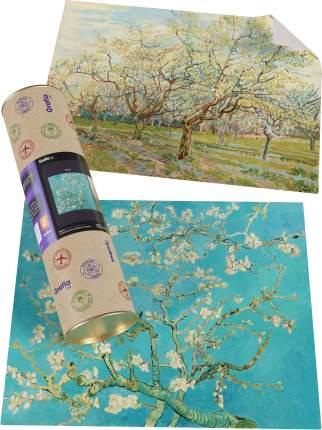 "Картины Ван Гога ""Цветущий миндаль + Белый сад"""