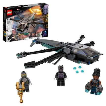 Конструктор LEGO Marvel Avengers Movie 4 76186 Корабль Чёрной Пантеры «Дракон»