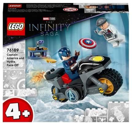 Конструктор LEGO Marvel Avengers Movie 4 76189 Битва Капитана Америка с Гидрой