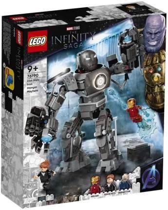 Конструктор Marvel Avengers Movie 4 76190 Железный человек: схватка с Железным Торговцем