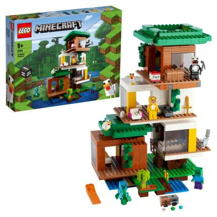 Конструктор LEGO Minecraft 21174 Современный домик на дереве