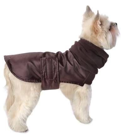 Попона для собак Монморанси ; унисекс; коричневый; ХL; длина спины 50 см