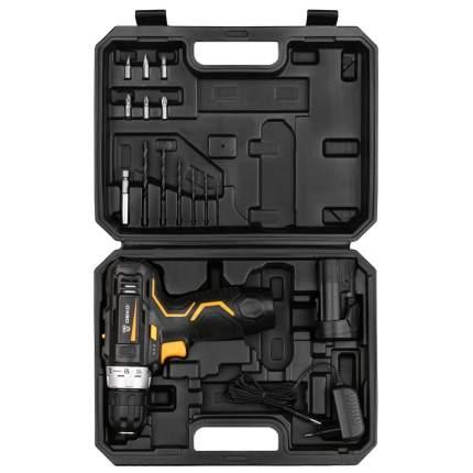 Аккумуляторная дрель-шуруповерт DEKO GCD12DU3 SET 4 в кейсе + оснастка 13 шт 063-4140