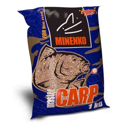 Прикормка MINENKO Master Carp Клубника