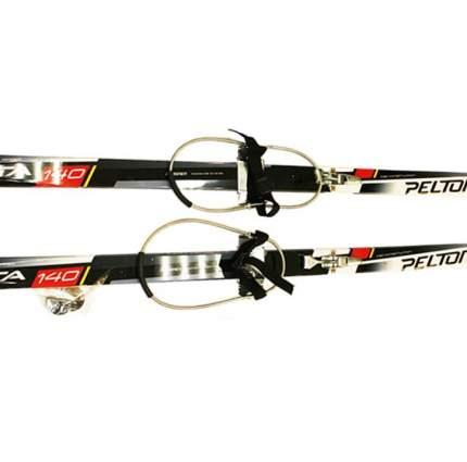 Лыжный комплект с кабельным креплением 120 STC степ Peltonen delta black/red/white