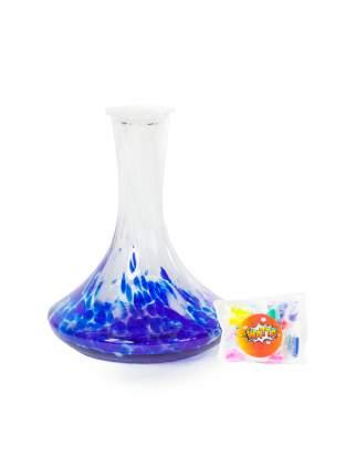 Колба стеклянная RAINBOW WHITE-BLUE (WAT40599)