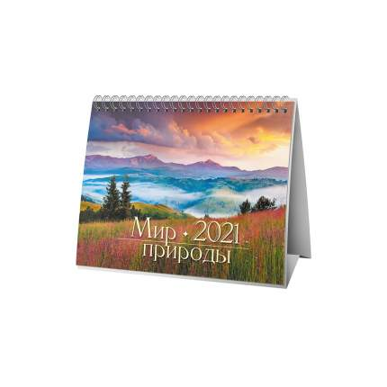 Календарь ND Play на 2021 год. Мир природы (настольный, домик)