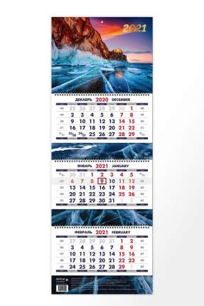 Календарь ND Play на 2021 год. Родные просторы (квартальный)
