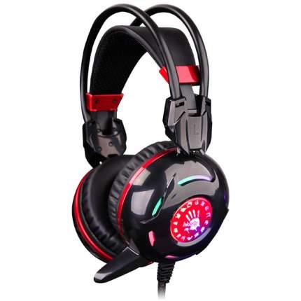 Игровая гарнитура A4Tech Bloody G300 Red/Black
