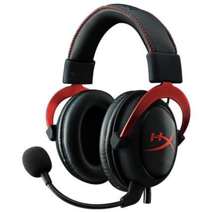 Игровая гарнитура HyperX Cloud II Red/Black