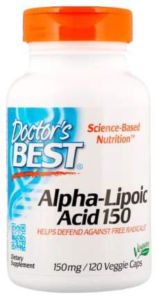 Альфа-липоевая кислота Doctor's Best 150 мг капсулы 120 шт.