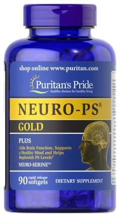 Фосфатидилсерин Neuro-Ps Gold Puritan's Pride капсулы 90 шт.