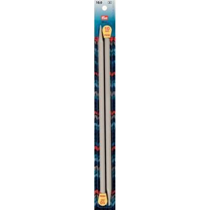 Спицы прямые с наконечниками, 10 мм, длина 35 см, 2 штуки