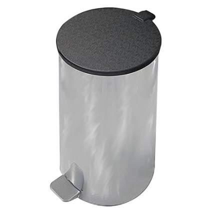 """Ведро-контейнер для мусора с педалью """"Усиленное"""", 40 литров, цвет серый"""