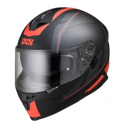 Мотошлем-интеграл HX 1100 2.0 X14070 M32 matt black-red XS