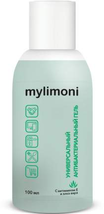 Гель антисептический универсальный Mylimoni с витамином Е и Алоэ Вера, 100 мл