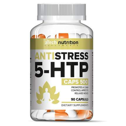 Специальный препарат aTech Nutrition 5 HTP Antistress, 90 капсул