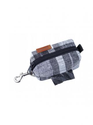 Диспенсер мешок для отходов собак AmiPlay London 9х5х4 см, серый