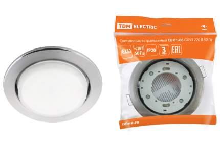 Светильник встраиваемый TDM ELECTRIC СВ 01-06 GX53 SQ0359-0058