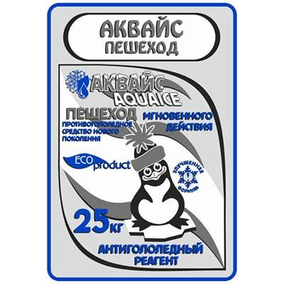 """Реагент антигололедный до -25 С°   25кг ПЕШЕХОД """"АКВАЙС"""" 1/1"""