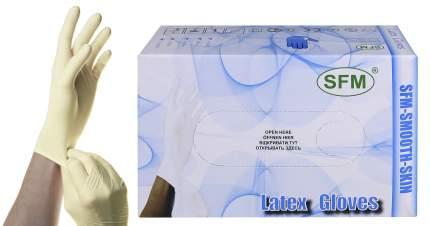 Перчатки медицинские SFM 50 пар р.M