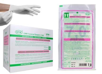 Перчатки медицинские SFM 1 пара р.5,5(XS)