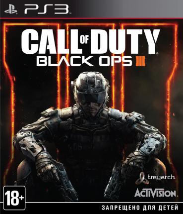 Игра Call of Duty: Black Ops 3 для PlayStation 3
