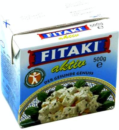 Сыр Fitaki Aktiv 17,5%