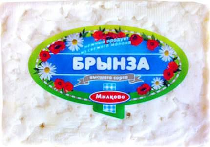 Сырный продукт Милково Брынза 45% ~400 г