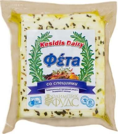 Фета Kesidis Dairy со специями 45% 200 г бзмж