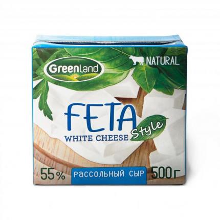 Сыр GreenLand Фета из буйволиного молока 500 г
