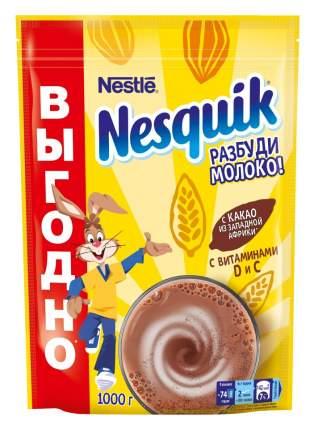 Какао-напиток NESQUIK, быстрорастворимый, обогащенный, пакет 1 кг