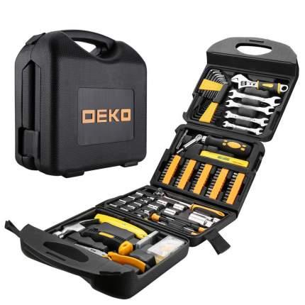Универсальный набор инструмента в чемодане Deko DKMT165 (165 предметов) 065-0742