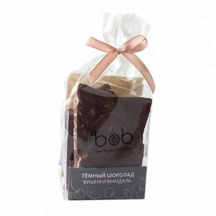 "Шоколад тёмный ""Вишня и миндаль"" Bob 100 г"