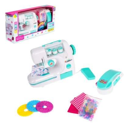 Швейная машина Карамель с 3 катушками и аппаратом для декора одежды, цвет мята Sima-Land