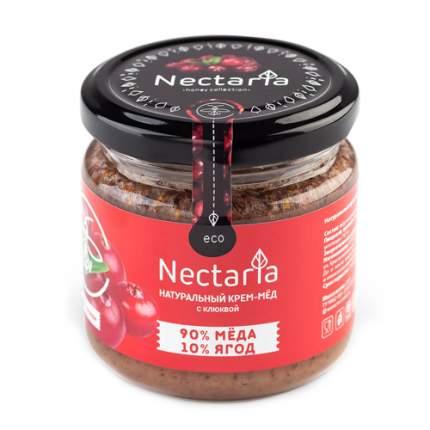 Крем-мёд с клюквой Nectaria 230 г