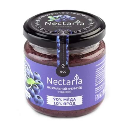 Крем-мёд с черникой Nectaria 230 г