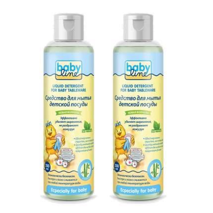 Средство для мытья детской посуды Babyline 2x250 мл
