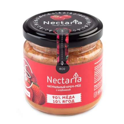 Крем-мёд с клубникой Nectaria 230 г