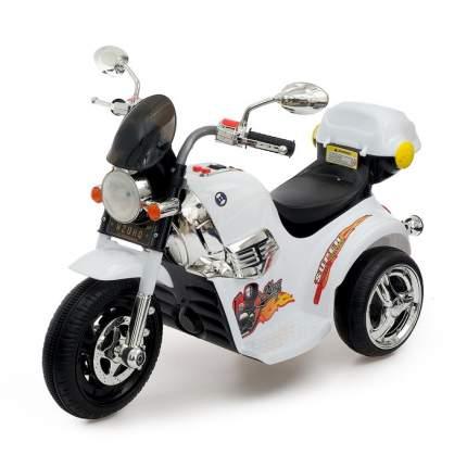 Электромобиль Чоппер, с аккумулятором, световые и звуковые эффекты, цвет белый Sima-Land