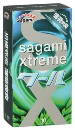 Презервативы Sagami Xtreme Mint с ароматом мяты 10 шт.