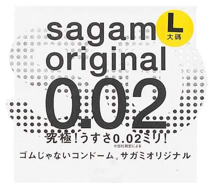 Презерватив Sagami Original 0.02 L-size увеличенного размера 1 шт.