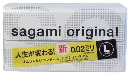 Презервативы Sagami Original 0.02 L-size увеличенного размера 12 шт.