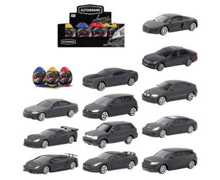 Машинка Black Edition в яйце-сюрпризе, 1:60 Autotime Autogrand