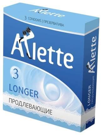 Презервативы Arlette Longer с продлевающим эффектом 3 шт.