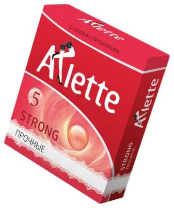 Ультрапрочные презервативы Arlette Strong 3 шт.