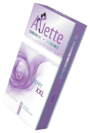 Увеличенные презервативы Arlette Premium Super XXL 6 шт.