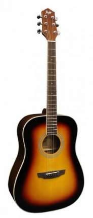 Акустическая гитара FLIGHT D-200 3TS