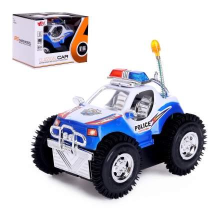 Машинка-перевертыш Полиция на бат., свет Shantou B1770771